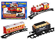 Детская железная дорога «Мой первый поезд», 0614, детские игрушки