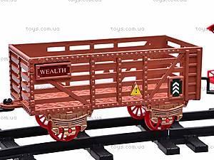 Детская железная дорога с эффектами, 1103, детские игрушки