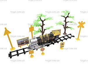 Детская железная дорога с пультом, 3055, фото