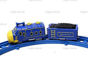 Детская железная дорога со звуковыми эффектами, 661В-1, фото