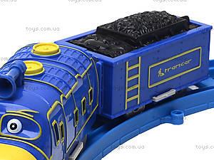 Детская железная дорога со звуковыми эффектами, 661В-1, игрушки