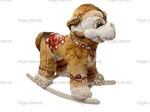 Детская качалка «Обезьяна Юзя» на лыжах, 40094, купить