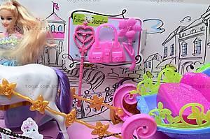 Детская карета с куклой, 689Н, цена