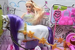 Детская карета с куклой, 689Н, игрушки