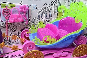 Детская карета с куклой, 689Н, магазин игрушек