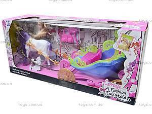 Детская карета с куклой, 689Н