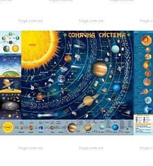 Детская Карта «Солнечная Система», 76858
