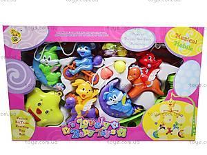 Детская карусель-погремушка на кроватку, D060, игрушки