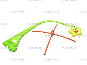 Детская карусель-погремушка на кроватку, D060, toys