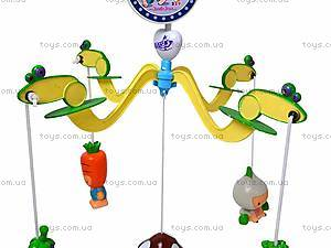 Детская карусель с резиновыми игрушками, JB555-6B, игрушки