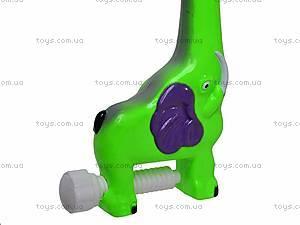 Детская карусель с резиновыми игрушками, JB555-6B, детские игрушки