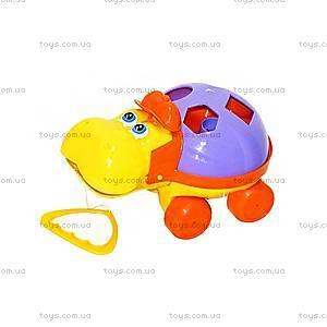Детская каталка «Гиппопотам», 5103