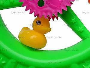 Детская каталка-колесо на палочке, 887-1, магазин игрушек