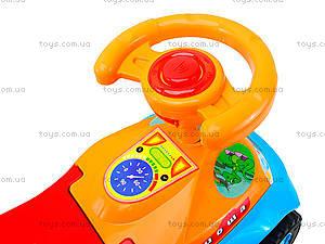 Детская каталка с звуковым эффектом «Дракоша-Ориоша», 140РУ198музруль, игрушки