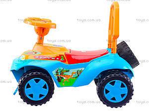 Детская каталка-толокар «Дракоша», 140_ЭУ, детские игрушки