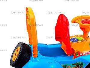 Детская каталка-толокар «Дракоша», 140_ЭУ, магазин игрушек