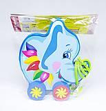Детская каталка в форме слоника, Д299ус, купить