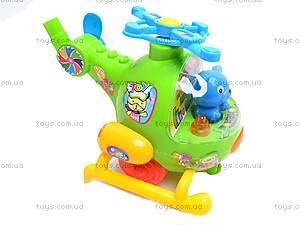 Детская каталка «Вертолет», с ручкой, 2867, игрушки