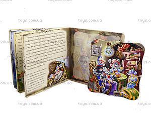 Детская книга «Дюймовочка» с пазлами, А13565У, іграшки