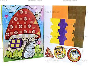 Детская книга-мозаика «Краб», 5014, купить