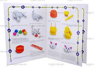 Детская книжка «Лепим из пластилина», 2990, игрушки