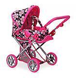 Детская коляска 2 в 1 с люлькой «Mary» цветочная, 9346FL, отзывы