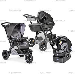 Детская коляска «3 в 1» Trio Activ3, цвет серый, 79270.47