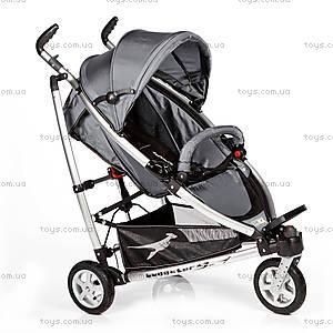 Детская коляска Buggster S Air, carbo/grey,