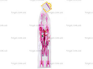 Детская коляска для куклы «Алиса», 0076, цена