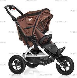 Детская коляска Joggster X Twist, carbo/brown,