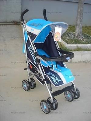 Детская коляска-трость, голубой цвет, BF-408W-BLUE