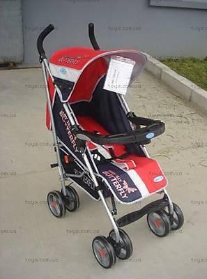 Детская коляска-трость, красный цвет, BF-408W-RED