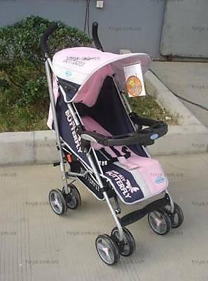 Детская коляска-трость, розовый цвет, BF-408W-PINK