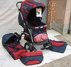 Детская коляска «Зима-Лето», 6638CP