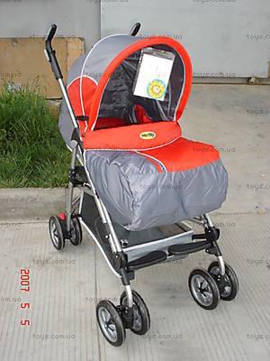Детская коляска «Зима-Лето», красная, SC601 RED