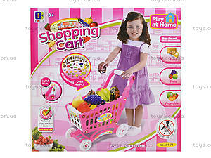 Детская корзина «Супермаркет» с аксессуарами, 661-78, цена