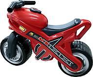 Детская красная каталка - мотоцикл, 46512, купить