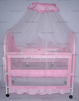 Детская кровать, с балдахином, 9136