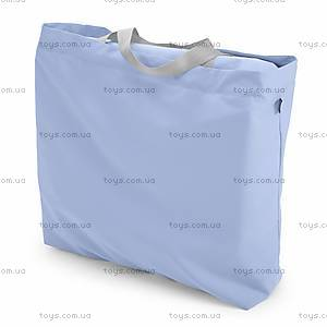 Детская кроватка LullaGo, голубая, 79812.09, купить