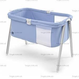 Детская кроватка LullaGo, голубая, 79812.09
