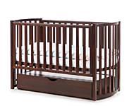 Детская кроватка Верес Соня ЛД-14 Орех, 14.3.1.03, игрушка