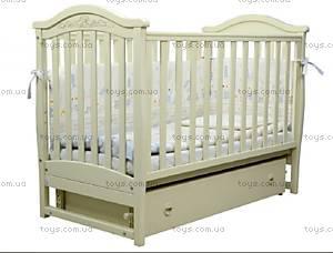 Детская кроватка Верес Соня ЛД-3 Слоновая кость, 03.1.04