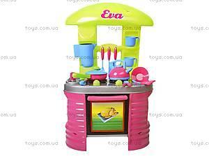 Детская кухня «Ева» с посудой, 04-405, отзывы