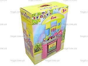 Детская кухня «Ева» с посудой, 04-405