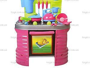 Детская кухня «Ева» с посудой, 04-405, игрушки