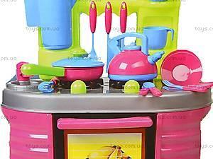 Детская кухня «Ева» с посудой, 04-405, детские игрушки
