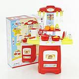 Детская кухня на батарейках, в коробке, 889-50