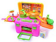 Детская кухня, с посудой и продуктами, 6913(BT-KS-20, фото