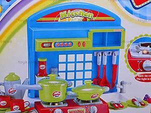 Детская кухня, со звуковым эффектом, 008-53A, цена