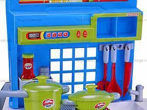 Детская кухня, со звуковым эффектом, 008-53A, детские игрушки